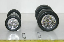Muscle Machines Wheels & Tires 1:18 PARTS For Customizing Car Builders RC  C