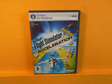 PC MICROSOFT FLIGHT SIMULATOR X Acceleration Expansion Pack Windows 7 8 10