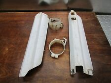 YZ 250F YAMAHA 2003 YZ 250F 2003 FORK GUARDS AND MOUNTS