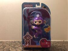 Fingerlings Mia Purple WowWee Fingerling Interactive Baby Monkey US Seller