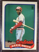 Ozzie Smith Baseball Card #230 Topps St. Louis Cardinals MLB HOF Free Ship NM-MT