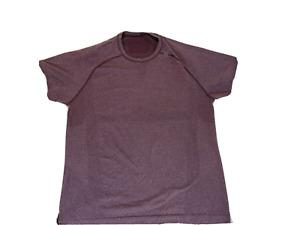Lululemon Men's Metal Vent Tech Short Sleeve - Sz XL Purple