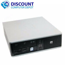 Fast Hp Desktop Computer Windows 10 Home Pc Core 2 Duo 2.66Ghz 4Gb 80Gb Dvd