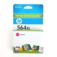HP OEM 564XL 564 Magenta Ink Cartridge Exp 3/2010 Genuine