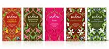 PUKKA TEA 20 TEABAGS - CHOOSE YOUR FAVORITE FLAVOURS