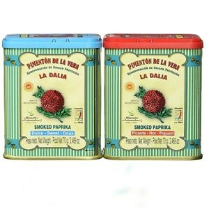 PAELLA SEASONING - Spanish Premium Smoked Paprika - La Dalia D.O.P.- SWEET & HOT