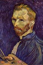 Vincent van Gogh Self Portrait Saint Remy - Poster 24x36 inch