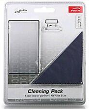 SONY PSP CLASSIC LITE PROTEZIONE SCHERMO CLEANING PACK GLASS SALVASCHERMO
