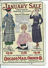 NA-069 - Chicago Mail Order Co, Catalog # 53, Women and Girls Fashions Ca 1918