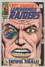 Captain Savage and His Leatherneck Raiders #4 July 1968 VG+ Hydra