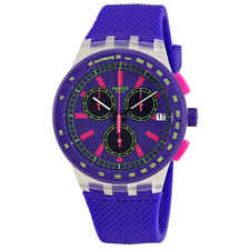 Swatch Purp-Lol Chronograph Purple Dial Ladies Watch SUSK400