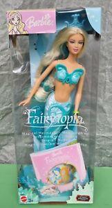 RARA BARBIE FAIRYTOPIA MAGICA SIRENA KAYLA Magical mermaid EUROPEAN MATTEL NRFB