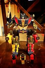 Original G1 Transformers *Victory Brave Road Caesar* Combination Figure