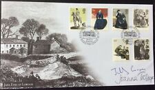 JILLY COOPER & JOANNA TROLLOPE, Authors, Signed 24.2.2005 Charlotte Bronte FDC