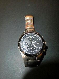 Watch SEIKO Chronograph Sportura with Calendar Chrome Bracelet 100mm