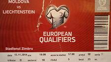 TICKET 15.11.2014 Moldawien - Liechtenstein