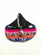 Peruvian Wallet Colorful Palm Size Unused