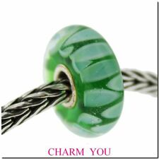 Authentic TROLLBEADS 61410 Green Shadow