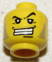 LEGO NEW MINIFIGURE HEAD PIRATE CASTLE GOLD TOOTH MINIFIG FACE
