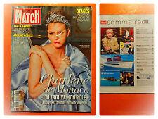Charlène de Monaco-Otages, récit, 10 mois de calvaire-Paris Match 3388-04/2014