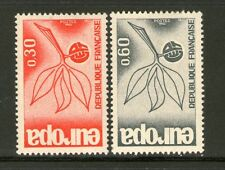 TIMBRE 1455-1456 NEUF XX - EUROPA 1965 - BRANCHE ET FEUILLES