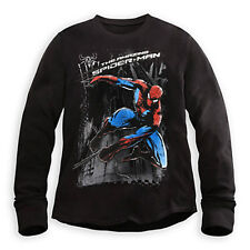 The Amazing Spider-Man Superior Spiderman Thermal Tee for Men Size L Jacket New