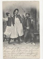 Hungary Musicians 1903 Postcard  245a