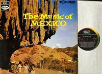 THE MUSIC OF MEXICO various ST21150 1G/1G 1st press uk capitol 1968 LP PS EX/EX-