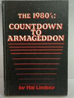 Vtg 1980 The 1980's: Countdown To Armageddon Hal Lindsey HC First Edition