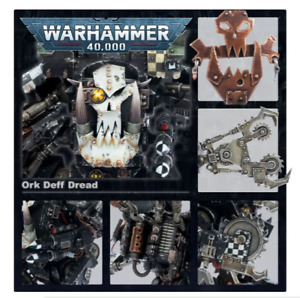 Warhammer 40k Ork Deff Dread New On Sprues