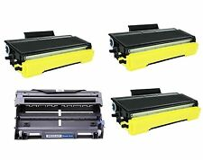 NON-OEM 4PK TONER DRUM FOR BROTHER DR520 TN580 MFC-8860DN MFC-8870DW