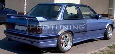 BMW E30 Rear bumper spoiler lip Valance addon Saloon Touring Coupe diffuser 3ser