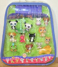 Rare 10 PACK CASE LITTLEST PET SHOP Case Twin Panda Tuxedo Cat Pencil Toppers