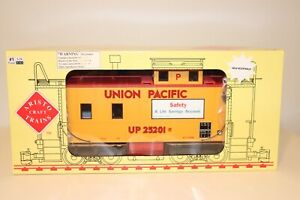 Aristocraft G Scale ART-22005C Steel/Long Safety Theme Caboose UP/Union Pacific