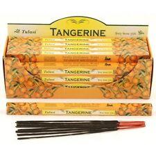 Tulasi Tangerine Incense Sticks  - (3 x 8 sticks) (N19)