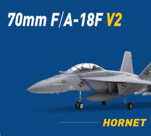 RC V2 Jet Plane Aircraft F18 Super Hornet FM-S 70mm EDF Ducted Fan PNP With GRYO