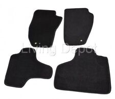 Fit For 08-13 Jeep Liberty 4Dr Floor Mats Carpet Front & Rear Nylon Black