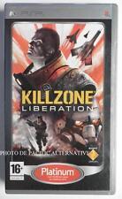 jeu KILLZONE LIBERATION platinum sur sony PSP en francais spiel juego guerre tir