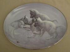 Wolf Collector Plate Rough House Lee Cable The Wild Bunch #6 Wolves