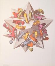 MC Escher Schwerkraft Poster Kunstdruck Bild 65x55cm