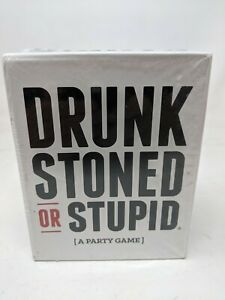 Drunk Stoned Or Stupid [A Party Game] 250 Cards