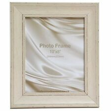 """Cornwall Range Shabby Chic Vintage Distressed Cream Picture Photo Frame 14x11"""""""