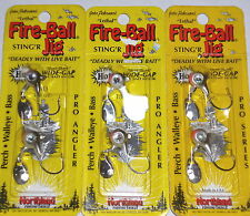Northland Tackle 1/8 Fireball Spin Jig (Lot of 3-Fathead-2/Pack)