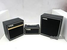 Miniature Guitar Bass VOX Black 3 Stack Speaker Cabinet Replica For Display Only