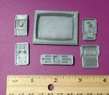 Custom Action Figure Diorama Accessory Wall Buttons Monitor Speaker 1/12 Scale