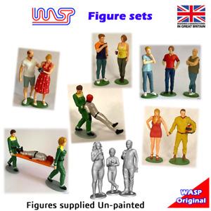 1/32 scale Figures Sets - WASP, waspslot, groups, spectators, people