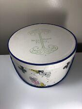 Vintage 1940's - 1950's Stix Baer & Fuller Of St Louis Mo Hat Box 12� x 6.5�
