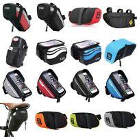 B-SOUL Bicycle Reflective Saddle Bags MTB Bike Mobile Phone Tail Bags Cycling