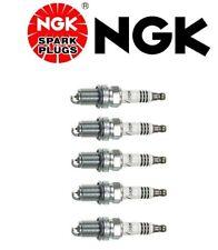 5 X Spark Plugs NGK Iridium Resistor BKR6EIX 6418 For Audi A6 Quattro VW Passat