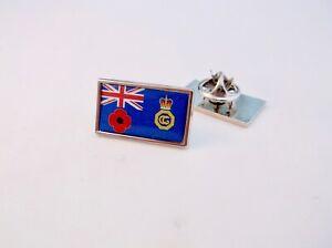 UK HM COAST GUARD COASTGUARD ENSIGN REMEMBRANCE LAPEL PIN BADGE TIE CLIP